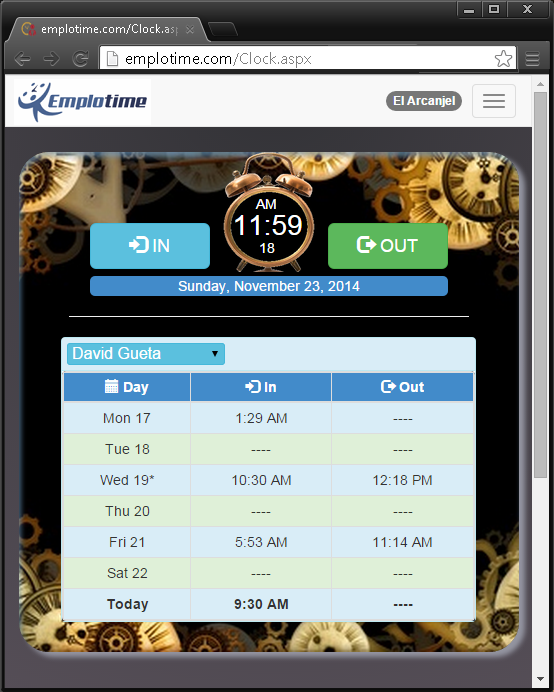 The best time and attendance time clock for small business